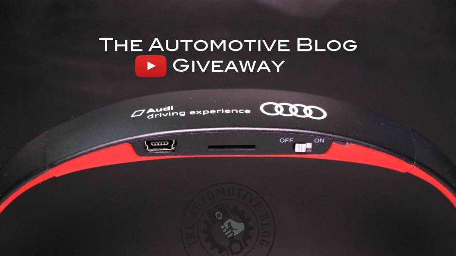 The Automotive Blog - YouTube Giveaway