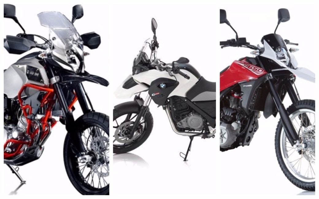 SWM SuperDual Vs Husqvarna TE 630 Vs BMW G650GS