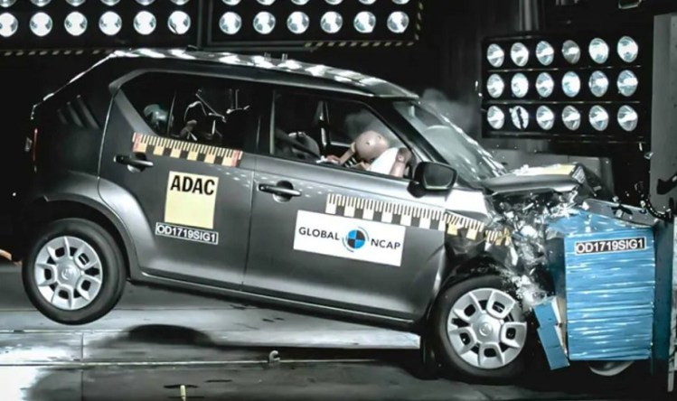 Maruti Suzuki Ignis Crash Test Results