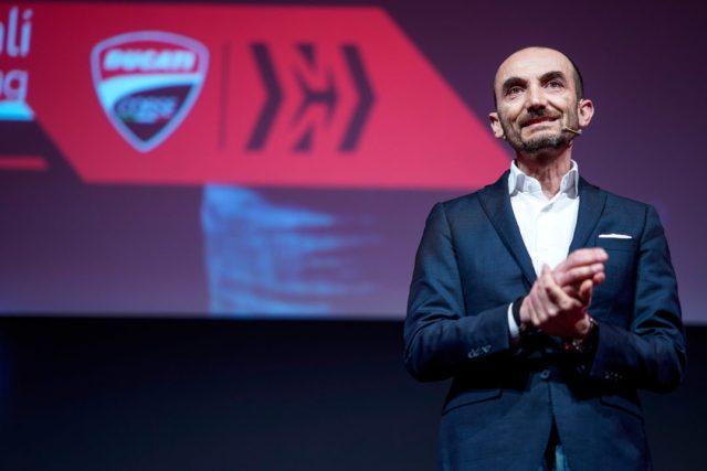 Claudio Domenicali,DucatiMotor Holding CEO