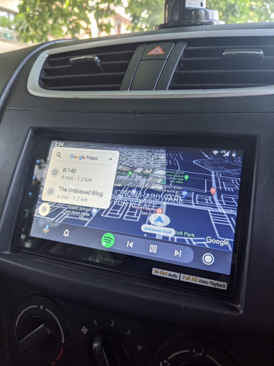 Pioneer DMH-Z6350BT Android Auto
