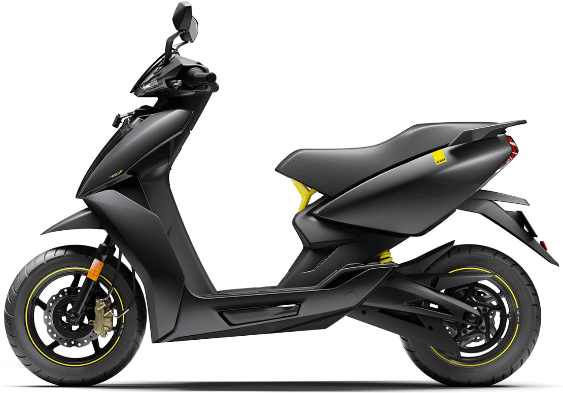 Price of the Ather 450X Electric Scooter goes down by Rs 14,500