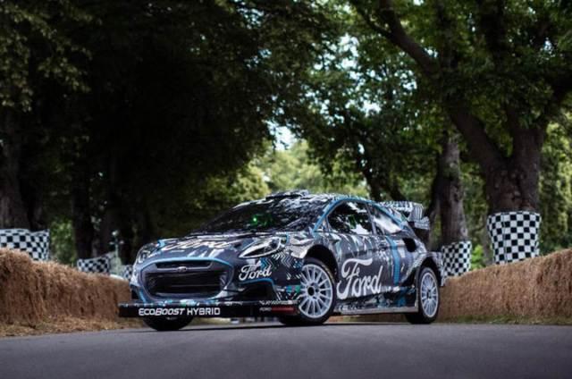 Puma Rally 1 hybrid