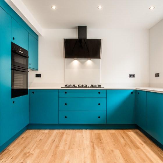 Handmade eco friendly Kitchens Skipton . The Autumn Kitchen