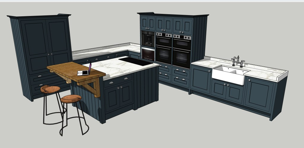 Hand made kitchens Skipton Designed to be unique too to
