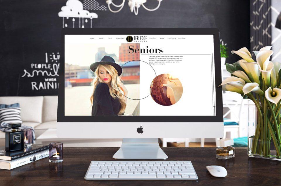 new Showit 5 website design