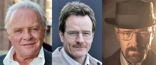 Hopkins, Cranston, Cranston as Walter White