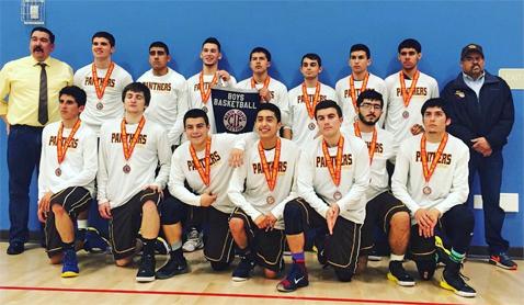 Panther Basketball Team 2016