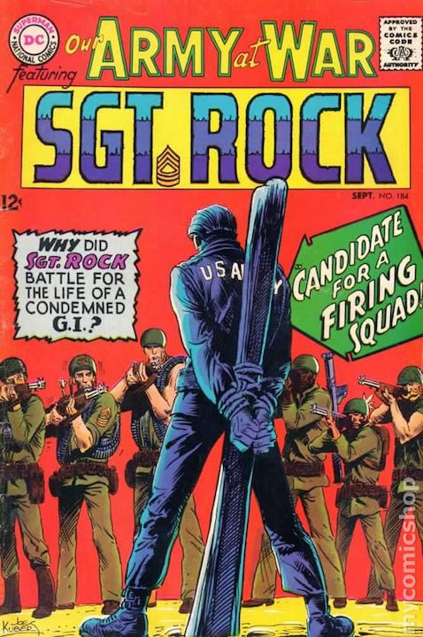 cover art by Joe Kubert