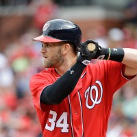 Bryce Harper Hits One to the White House