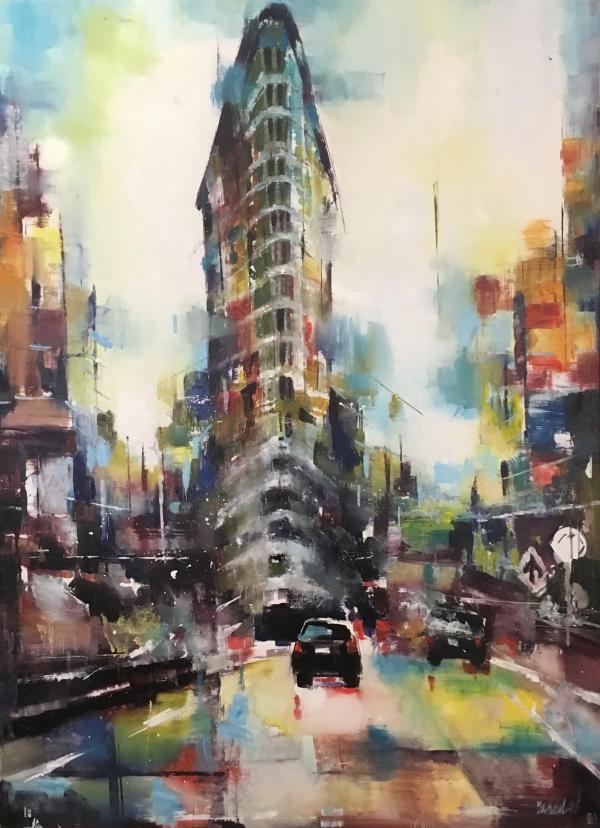 Contemporary Artist Yared Nigussu Avenue