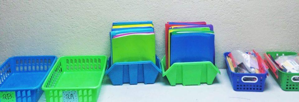 Teacher organization tips - color coding