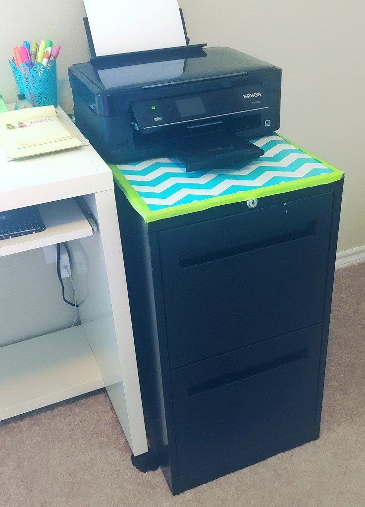 Organization on a budget - free filing cabinet
