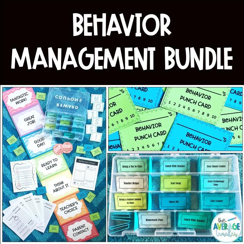behavior management tpt