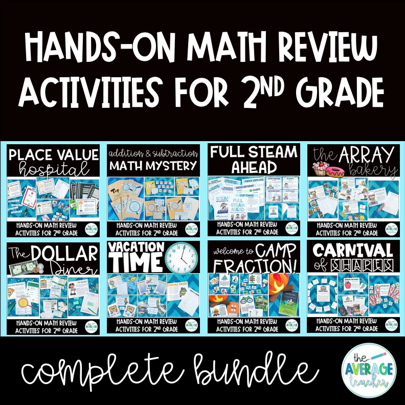 Review activities for 2nd grade