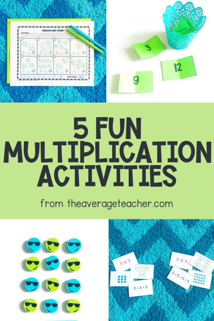 5 Multiplication Activities for students