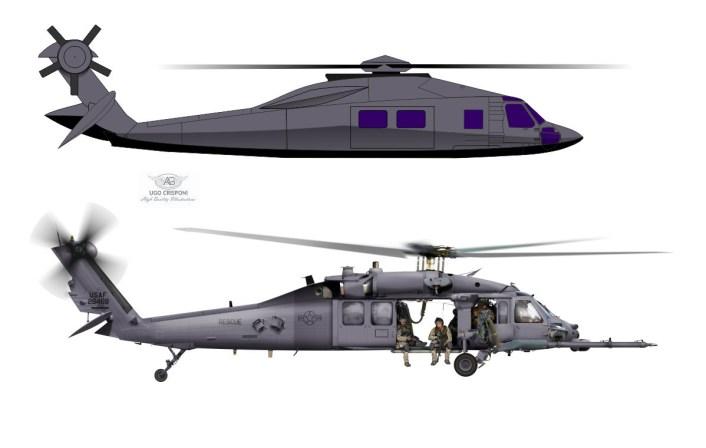 MH-X Stealth Black Hawk