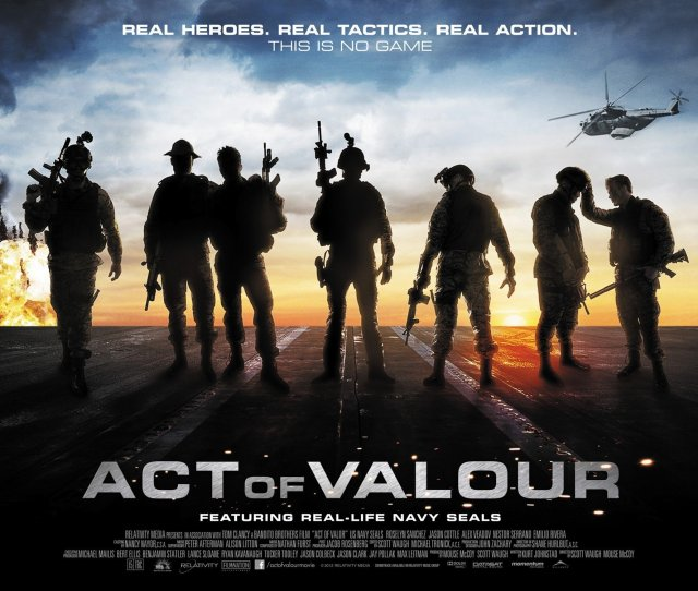 All The War Tech Youll Find In Act Of Valor Action Movie The Aviationist