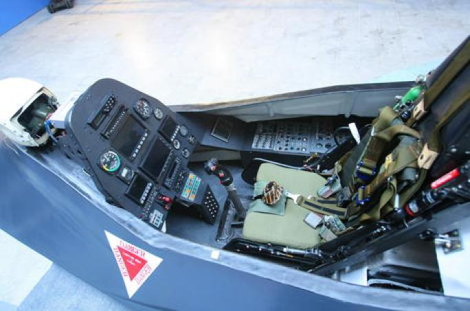 Q-313 cockpit