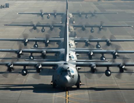C-130 Elephant Walk