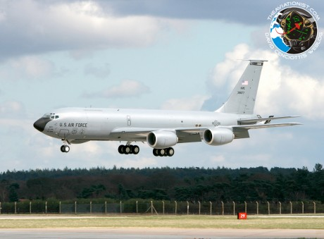 KC-135 crashed