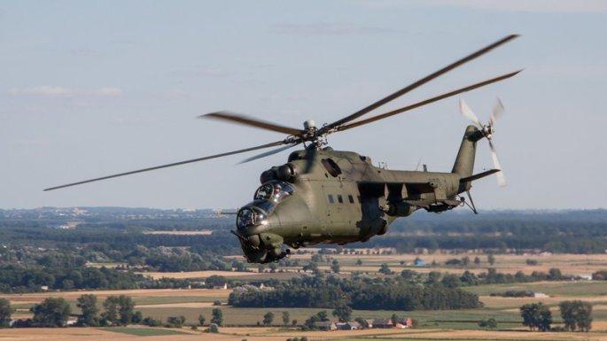 Mil Mi-24 air-to-air