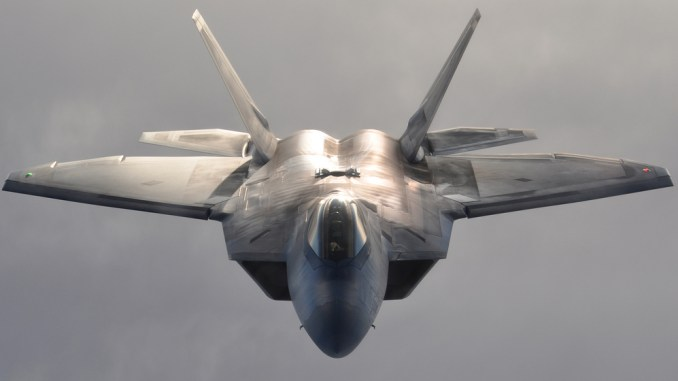 U S  F-22 stealth fighter pilot taunted Iranian F-4 Phantom