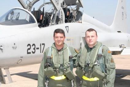 SpAF F-5 pilot