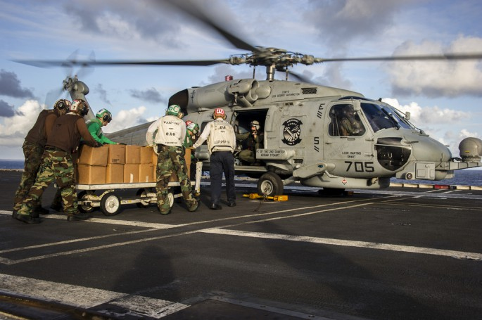 MH-60S carrier