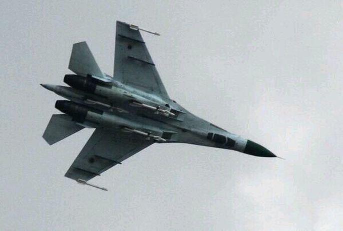Su-27 downed Ukraine