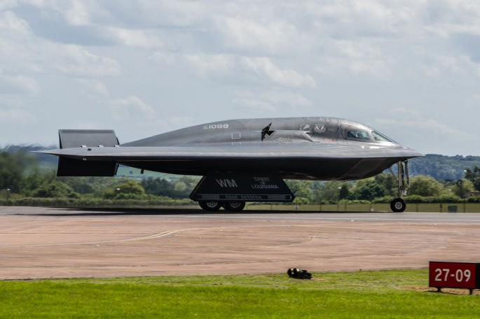 B-2 Spirit of Lousiana