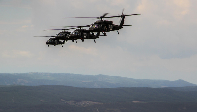KFOR Multi-ship UH-60