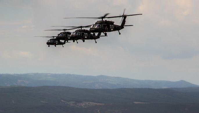 KFOR Multi-ship UH-60