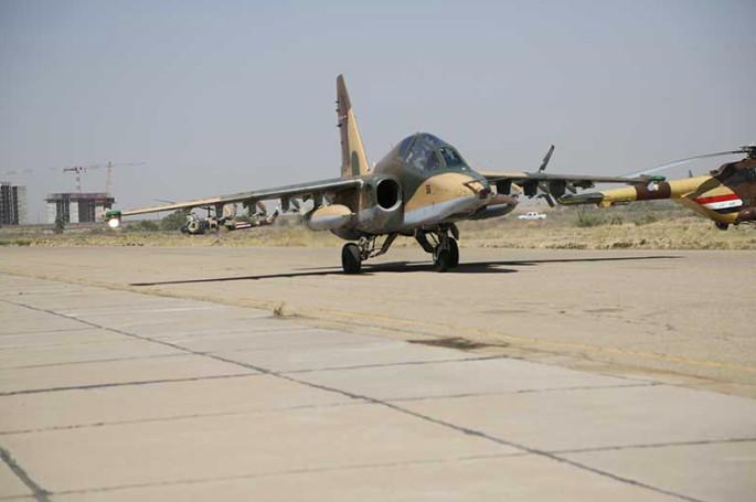 Su-25 IRGC Iraq