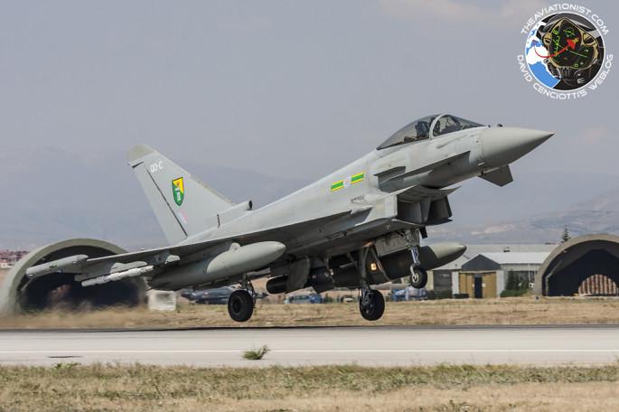 RAF Typhoon FGR4 Konya