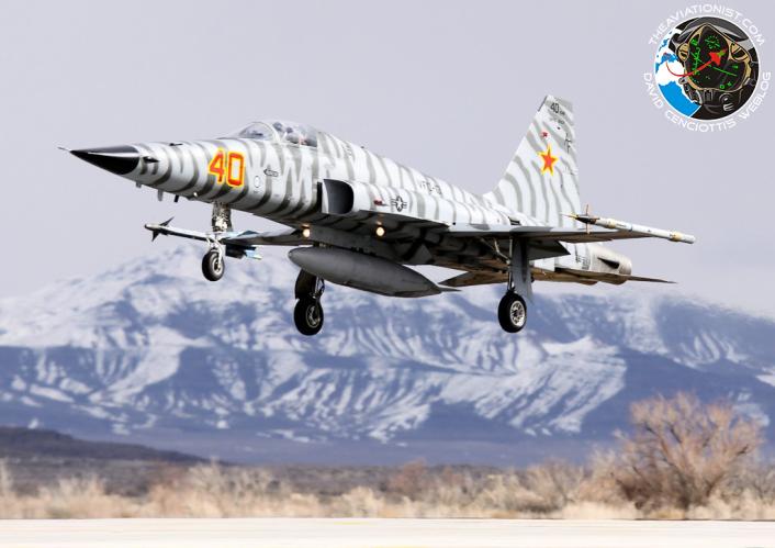 AF-40. F-5N. VFC-13. NAS Fallon. 03.02.2014