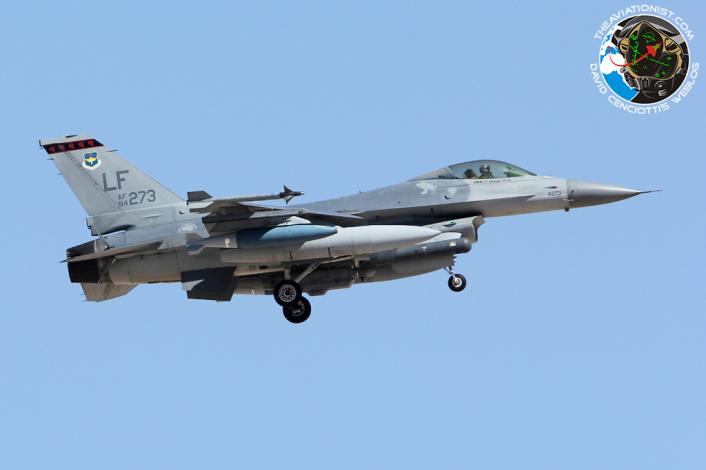 F-16C. 94-0273:LF. 425FS. Rep Singapore AF