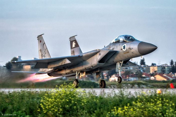 F-15 Baz take off