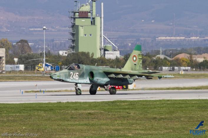 Su-25 taxi