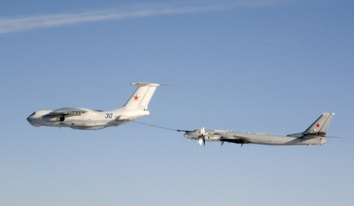 Il-78 refueled