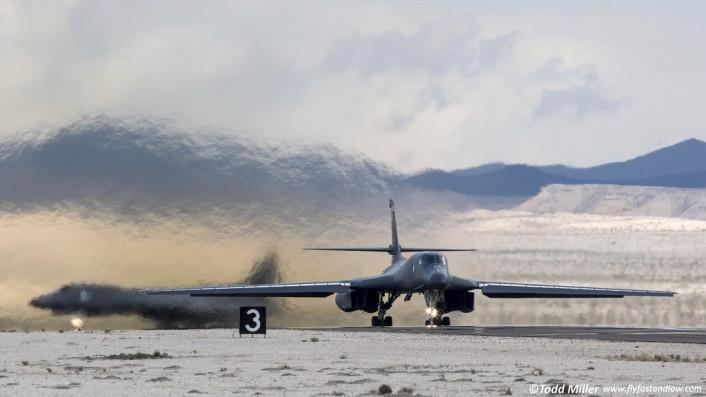 B-1 takeoff RF15-2