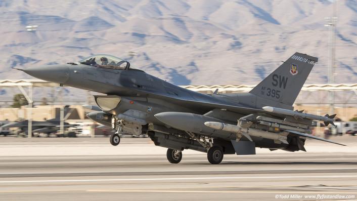 F-16 takeoff SW