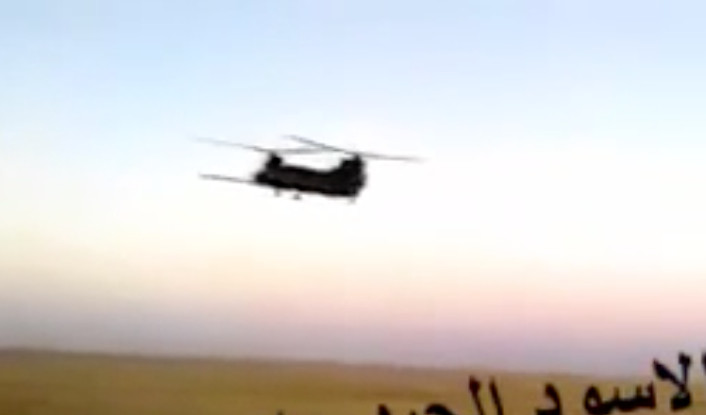 MH-47 over Iraq