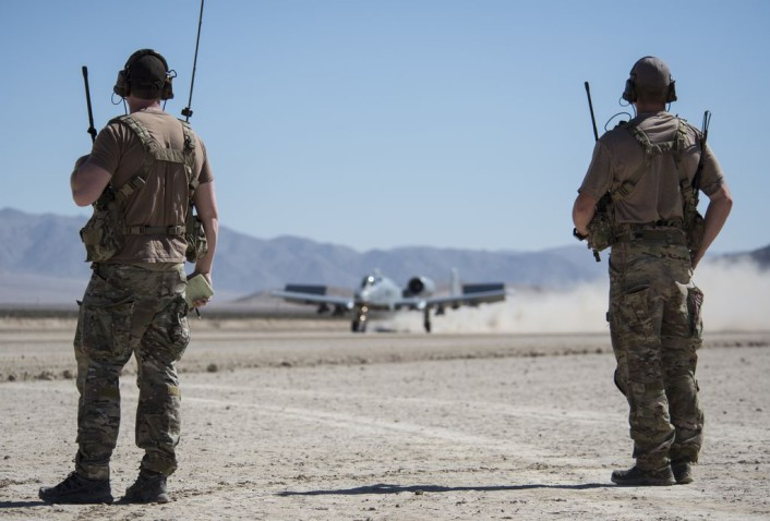 'Thunder' rolls at Fort Irwin