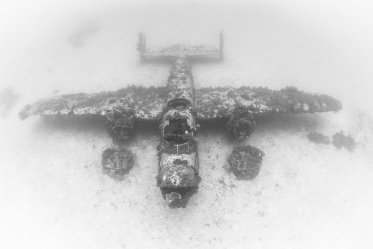 Incredible photos of some of the 150 U S  WWII aircraft