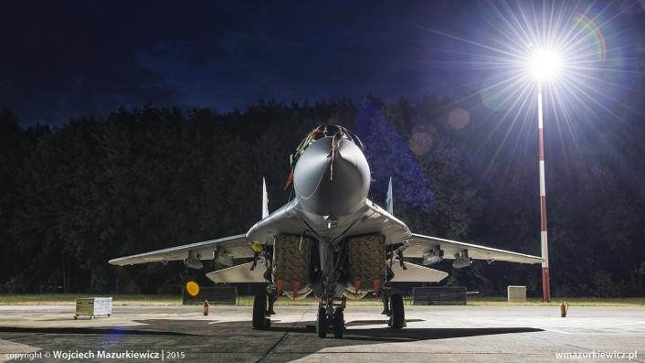 Radom airshow night