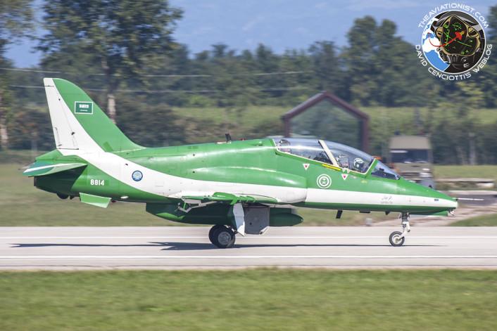 Saudi Hawks landing