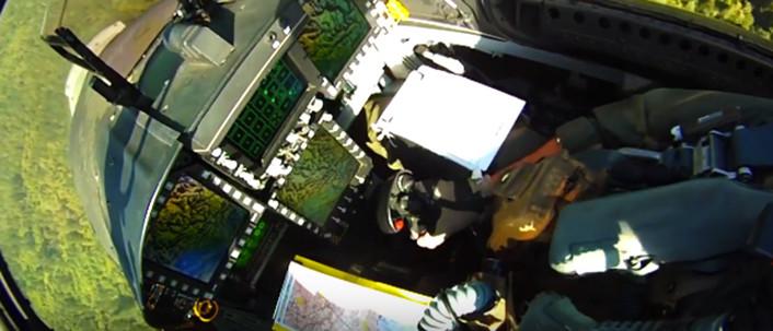 Hornet Ball 2015 cockpit top
