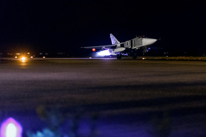 Su-24 night launch 1