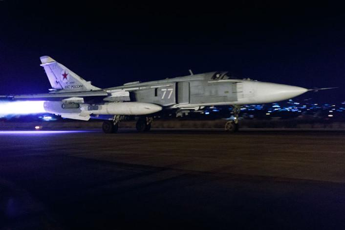Su-24 night launch 3